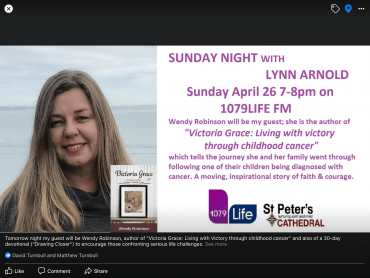 Sunday night with Lynn Arnold